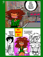 Ask Katie The Lion SPRING TIME HEAT by ralphbear