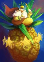 Pinaple king by Pendalune