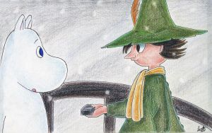 Snufkin travels South by atETemIaGArE