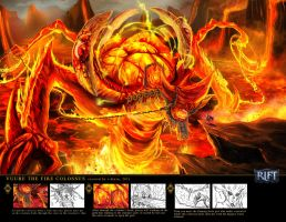 VUURE THE FIRE COLOSSUS by R-DRAIN