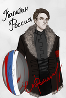 Marvel AU - Captain Russia (ex Captain USSR) by KlodwigLichtherz