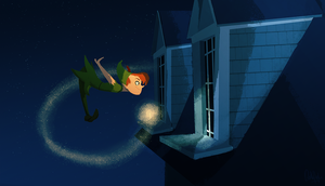 Peter Pan by beffalumps