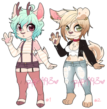 Furry Adopt Auction 2 SOLD by rap1993