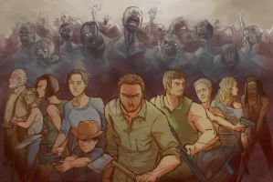 The Walking Meatbags by T1mco