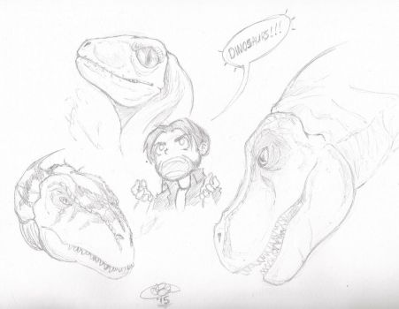 Dinosaurs! by FactionFighter