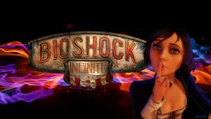 Bioshock Infinite   Wallpaper by JavierG-Arts