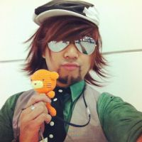 Kotetsu Tiger and Bunny Cosplay: Tiger Shades by ManticoreEX