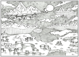 Day 11 - A place by Dmk-Dreamaker