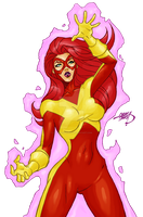 Jean Grey 2015 XFACTOR COLORED by LucasAckerman