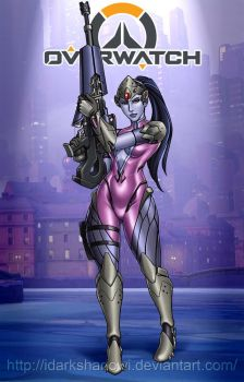 Widowmaker Overwatch by IDarkShadowI