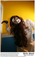 Masked Woman.8 by Della-Stock