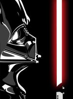 Darth Vader Vector by demonMONKEY93