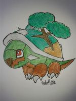 Cutie Torterra 4 a Friend by Thunder2910