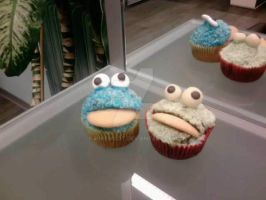 Funny Cupcakes by Mikewildt