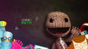 LittleBigPlanet2 BETA Wall by metrovinz