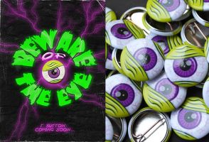 The Eye - Printed button by Wyel
