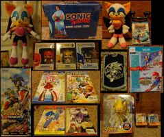 Sonic Collection .:Update 20:. by VeggieMadness