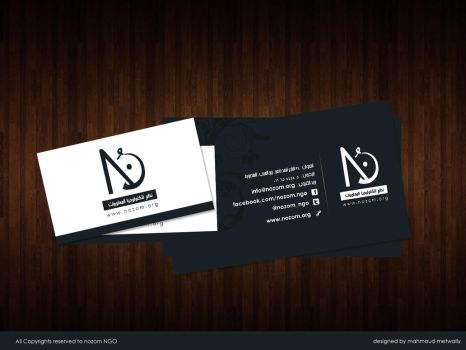 Nozom BCard by Ma7moudMetwally