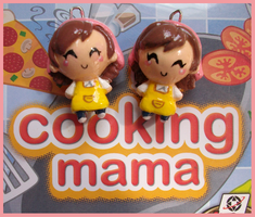Chibi-Charms: Cooking Mama by MandyPandaa