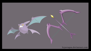 Pokemon Weapons Series Crobow by Hyperagua