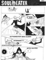 SOUL EATER manga::01 by KingdomZelaybli