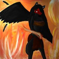 Angel of Fire by Ciniminimon