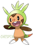 Chespin by LpOffroad