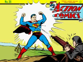 Action Comics 35 by Superman8193