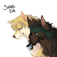 Snake and Eva by TotallySpiesFreak