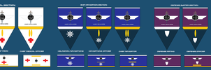 Ship Section Ranks and Insignia Part 2: by EmperorMyric