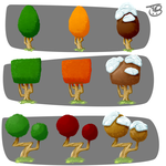 Tree Cycle by TreyBarksArt
