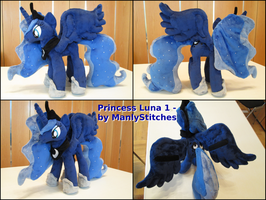 Princess Luna #1 by ManlyStitches