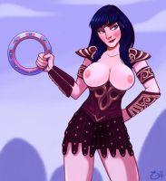 Xena NSFW by 0-Han