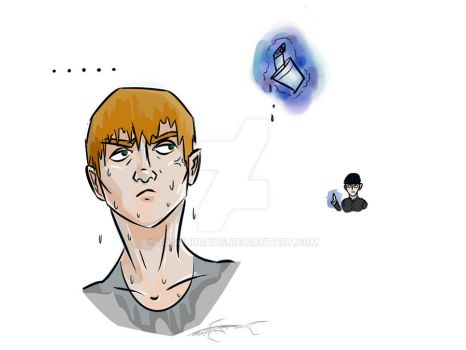 Reigen (and Mob) Doodle by Tasch-Draws