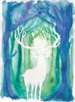 Spirit Deer by nienor