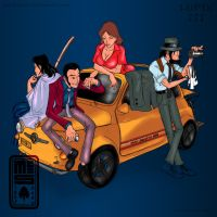 lupin the 3rd by latinabooty