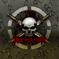 Decimation - Album cover by HellHoundx666