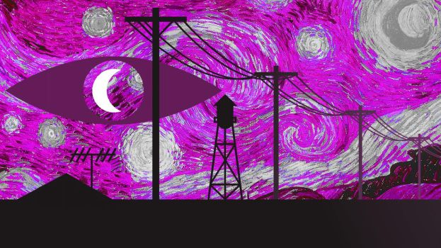 Starry Night Vale by itwasatrickpie