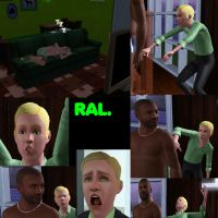 RAL in the sims..Even more wierd by bloodwolf8