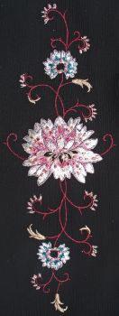 Embroidery Water Lilly 2 by Penny-Stock