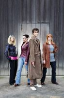 The 10th Doctor's angels by Isadorada