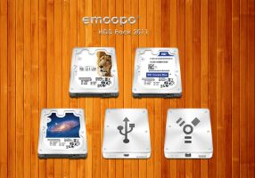HDD-Pack 2011 mac icns by emoopo