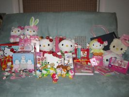 My Hello Kitty Collection by Thebabyduck