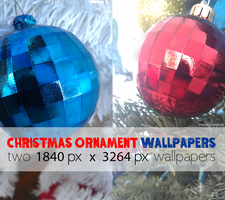 Christmas Ornament Wallpapers by GENAYNAY