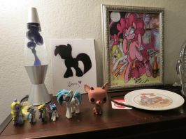 All my brony stuff by EROCKERTORRES