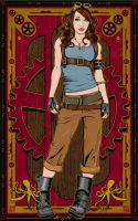 Kato_Steampunk_LaraCroft by Grimgraphix