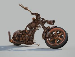 Chopper Steampunk style WIP 8 by Aci-RoY
