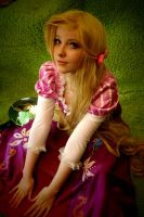 Rapunzel - Tangled cosplay by Childishx