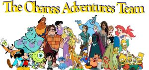 The Ohanas Adventures Team Poster (by 76859Thomas) by RapunzelOnYouTube