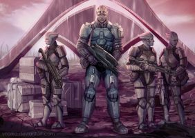 Defenders of Thessia by ynorka